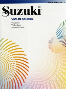 SUZUKI VIOLIN SCHOOL VOL 2 VIOLIN PART,  Book