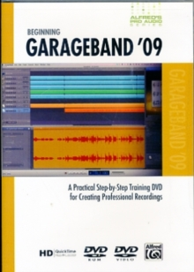 ALFRED PROAUDIO DVD BEGINNING GARAGE BAN,  Book