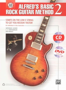 ALFREDS BASIC ROCK GUITAR METHOD 2, Paperback Book