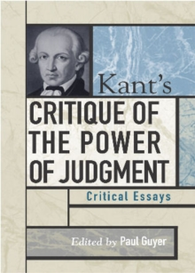 Kant's Critique of the Power of Judgment : Critical Essays, Paperback / softback Book