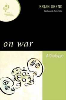 On War : A Dialogue, Paperback / softback Book