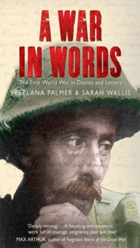 A War in Words, Paperback Book