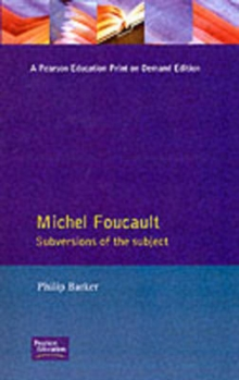 Michel Foucault : Subversions of the Subject, Paperback Book