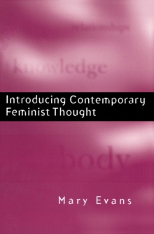 Introducing Contemporary Feminist Thought, Paperback / softback Book