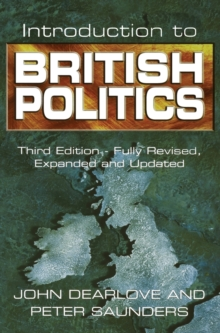 Introduction to British Politics, Hardback Book