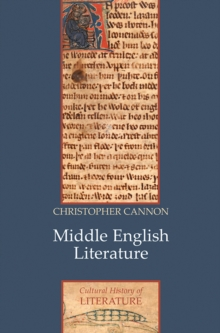 Middle English Literature, Paperback / softback Book