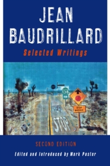 Jean Baudrillard : Selected Writings, Hardback Book