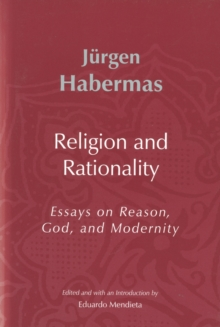 Religion and Rationality : Essays on Reason, God and Modernity, Hardback Book