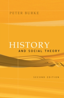 History and Social Theory, Paperback Book