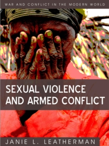 Sexual Violence and Armed Conflict, Hardback Book