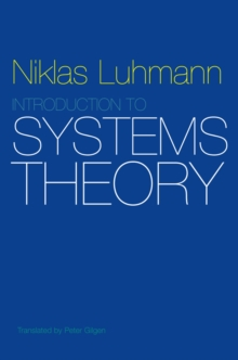 Introduction to Systems Theory, Paperback Book
