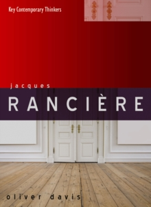 Jacques Ranciere, Hardback Book