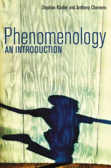 Phenomenology - an Introduction, Paperback Book