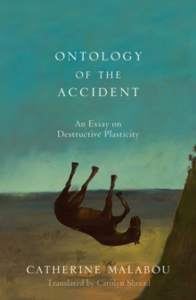 The Ontology of the Accident : An Essay on Destructive Plasticity, Hardback Book