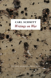 Writings on War, Hardback Book