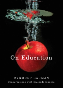 On Education : Conversations with Riccardo Mazzeo, Hardback Book