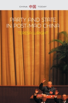Party and State in Post-Mao China, Hardback Book
