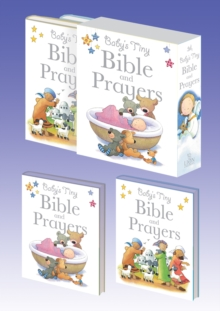 Baby's Tiny Bible and Prayers, Hardback Book