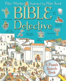 Bible Detective : A Puzzle Search Book, Hardback Book