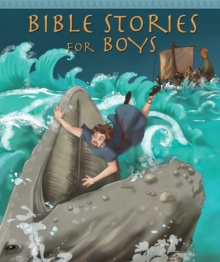 Bible Stories for Boys, Hardback Book