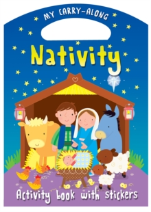 My Carry-along Nativity : Activity book with stickers, Paperback / softback Book