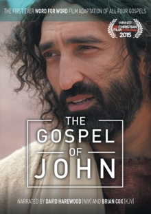 The Gospel of John : The First Ever Word for Word Film Adaptation of All Four Gospels, DVD video Book
