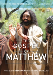 The Gospel of Matthew : The First Ever Word for Word Film Adaptation of all Four Gospels, DVD video Book