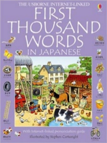 First 1000 Words: Japanese, Paperback Book