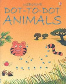 Dot to Dot Animals, Paperback Book