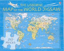 The Usborne Map of the World Jigsaw, Game Book