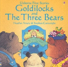 Usborne Fairytale Sticker Stories Goldilocks And The Three Bears, Paperback / softback Book