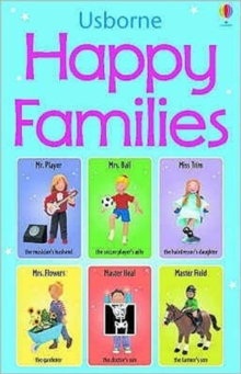 Happy Families Card Game, Novelty book Book