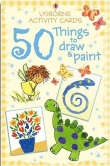 Activity Cards : 50 Things to Draw and Paint, Cards Book