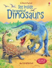 See Inside : World Of Dinosaurs, Hardback Book
