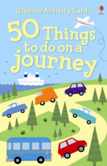 50 Things To Do On A Journey Activity Cards, Novelty book Book