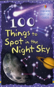 100 Things to Spot in the Night Sky Cards, Novelty book Book