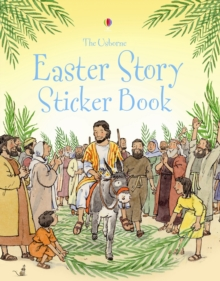 The Easter Story Sticker Book, Paperback Book