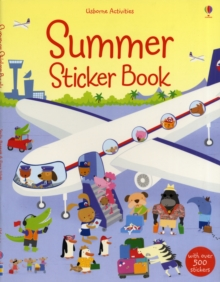 Summer Sticker Book, Paperback Book