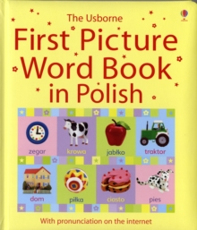 Usborne First Picture Book in Polish, Hardback Book