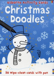 Christmas Doodles, Cards Book
