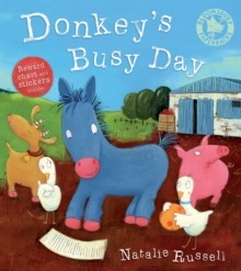 Donkey's Busy Day, Paperback Book