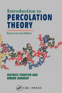 Introduction to Percolation Theory, Paperback Book