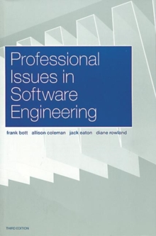 Professional Issues in Software Engineering, Paperback Book