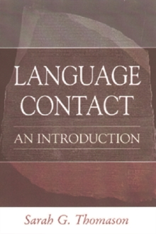 Language Contact : An Introduction, Paperback Book