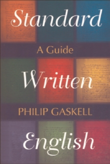 Standard Written English : A Guide, Paperback / softback Book