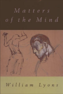 Matters of the Mind, Paperback Book