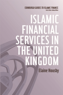 Islamic Financial Services in the United Kingdom, Hardback Book