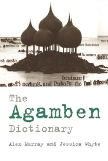 The Agamben Dictionary, Paperback / softback Book