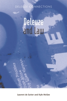 Deleuze and Law, Hardback Book