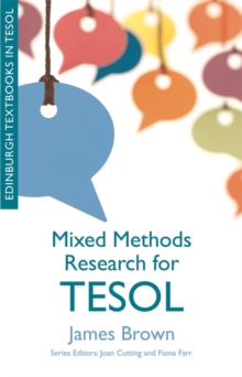 Mixed Methods Research for TESOL, Hardback Book